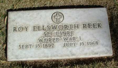 REEK, ROY ELLSWORTH - Yavapai County, Arizona | ROY ELLSWORTH REEK - Arizona Gravestone Photos