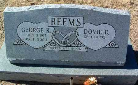 REEMS, GEORGE K. - Yavapai County, Arizona | GEORGE K. REEMS - Arizona Gravestone Photos