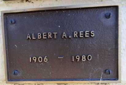 REES, ALBERT A. - Yavapai County, Arizona | ALBERT A. REES - Arizona Gravestone Photos