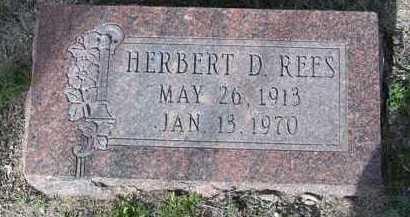 REES, HERBERT DAVID - Yavapai County, Arizona   HERBERT DAVID REES - Arizona Gravestone Photos
