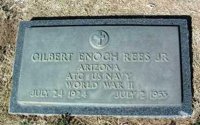 REES, GILBERT ENOCH, JR. - Yavapai County, Arizona | GILBERT ENOCH, JR. REES - Arizona Gravestone Photos