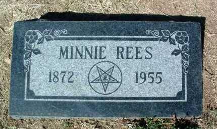 REES, MINNIE - Yavapai County, Arizona | MINNIE REES - Arizona Gravestone Photos