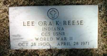 REESE, LEE ORA K. - Yavapai County, Arizona | LEE ORA K. REESE - Arizona Gravestone Photos