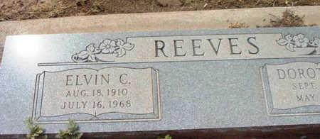 REEVES, ELVIN CARL - Yavapai County, Arizona | ELVIN CARL REEVES - Arizona Gravestone Photos