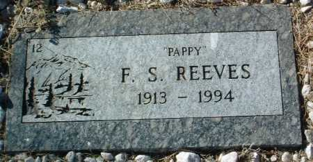 REEVES, F.S. - Yavapai County, Arizona | F.S. REEVES - Arizona Gravestone Photos