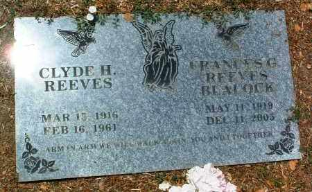 REEVES, FRANCES G. - Yavapai County, Arizona | FRANCES G. REEVES - Arizona Gravestone Photos