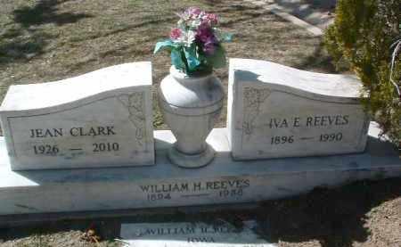 REEVES, IVA ETHYL - Yavapai County, Arizona   IVA ETHYL REEVES - Arizona Gravestone Photos