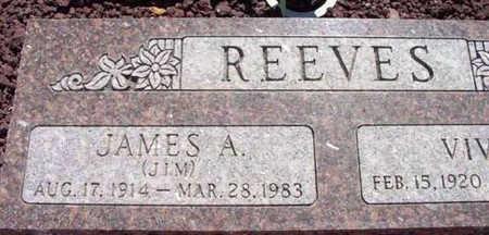 REEVES, JAMES A. (JIM) - Yavapai County, Arizona | JAMES A. (JIM) REEVES - Arizona Gravestone Photos