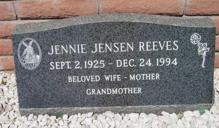 JENSEN REEVES, JENNIE - Yavapai County, Arizona | JENNIE JENSEN REEVES - Arizona Gravestone Photos
