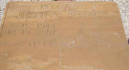 REEVES, JESSE OLIVER - Yavapai County, Arizona   JESSE OLIVER REEVES - Arizona Gravestone Photos