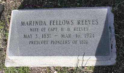 REEVES, MARINDA - Yavapai County, Arizona   MARINDA REEVES - Arizona Gravestone Photos