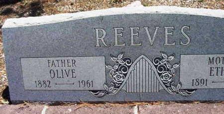 REEVES, JESSE OLIVE - Yavapai County, Arizona | JESSE OLIVE REEVES - Arizona Gravestone Photos