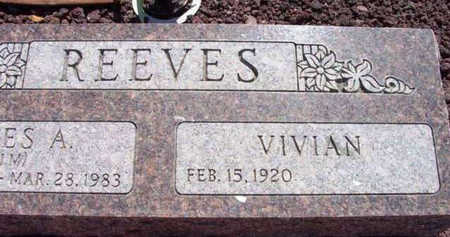 REEVES, VIVIAN MARGRETT - Yavapai County, Arizona | VIVIAN MARGRETT REEVES - Arizona Gravestone Photos