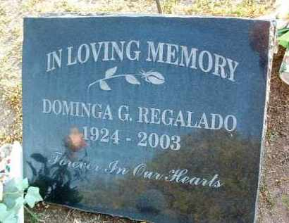 REGALADO, MARIA DOMINGA - Yavapai County, Arizona | MARIA DOMINGA REGALADO - Arizona Gravestone Photos