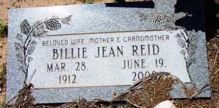 REID, BILLIE JEAN - Yavapai County, Arizona | BILLIE JEAN REID - Arizona Gravestone Photos