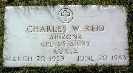 REID, CHARLES W. - Yavapai County, Arizona   CHARLES W. REID - Arizona Gravestone Photos