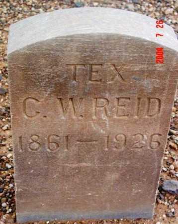 REID, C. W.   (TEX) - Yavapai County, Arizona | C. W.   (TEX) REID - Arizona Gravestone Photos