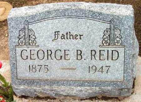 REID, GEORGE B. - Yavapai County, Arizona | GEORGE B. REID - Arizona Gravestone Photos