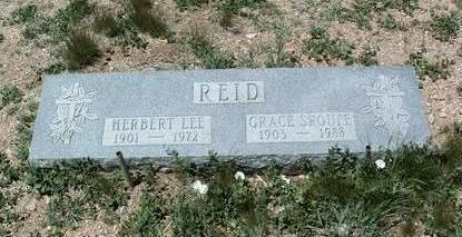 SROUFE REID, GRACE - Yavapai County, Arizona | GRACE SROUFE REID - Arizona Gravestone Photos