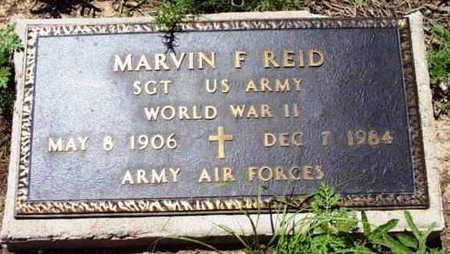 REID, MARVIN F. - Yavapai County, Arizona | MARVIN F. REID - Arizona Gravestone Photos