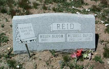 REID, HELEN ELIZABETH - Yavapai County, Arizona | HELEN ELIZABETH REID - Arizona Gravestone Photos