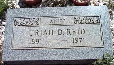 REID, URIAH DAVIS - Yavapai County, Arizona | URIAH DAVIS REID - Arizona Gravestone Photos