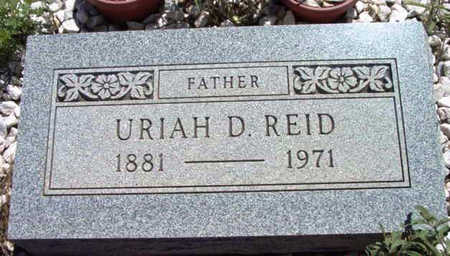 REID, URIAH DAVIS - Yavapai County, Arizona | URIAH DAVIS REID - Arizona Gravestone Photos