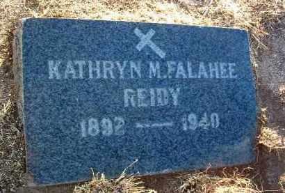 FALEHEE REIDY, KATHRYN M. - Yavapai County, Arizona | KATHRYN M. FALEHEE REIDY - Arizona Gravestone Photos