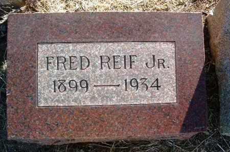 REIF, GOTTFRIED, JR.  (FRED) - Yavapai County, Arizona | GOTTFRIED, JR.  (FRED) REIF - Arizona Gravestone Photos