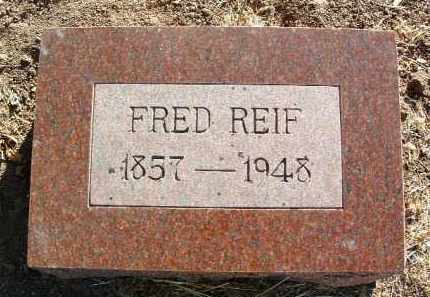 REIF, GOTTFRIED, SR.  (FRED) - Yavapai County, Arizona | GOTTFRIED, SR.  (FRED) REIF - Arizona Gravestone Photos
