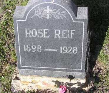 JONES REIF, ROSE - Yavapai County, Arizona   ROSE JONES REIF - Arizona Gravestone Photos