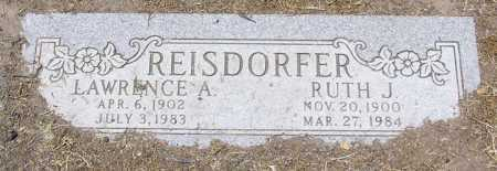 REISDORFER, RUTH J . - Yavapai County, Arizona | RUTH J . REISDORFER - Arizona Gravestone Photos