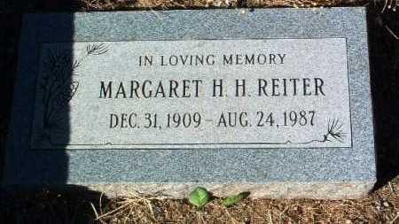 REITER, MARGARET H. H. - Yavapai County, Arizona   MARGARET H. H. REITER - Arizona Gravestone Photos