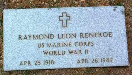 RENFROE, RAYMOND LEON - Yavapai County, Arizona | RAYMOND LEON RENFROE - Arizona Gravestone Photos