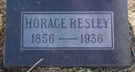 RESLEY, HORACE - Yavapai County, Arizona | HORACE RESLEY - Arizona Gravestone Photos