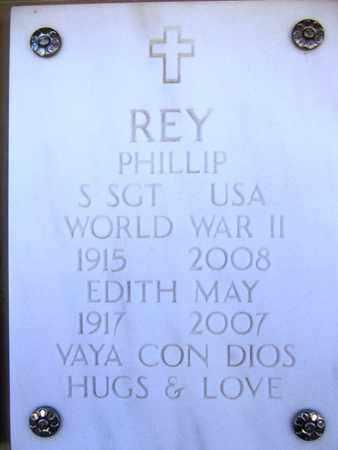 REY, EDITH MAY - Yavapai County, Arizona | EDITH MAY REY - Arizona Gravestone Photos