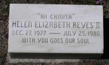 REYES, HELEN ELIZABETH II - Yavapai County, Arizona | HELEN ELIZABETH II REYES - Arizona Gravestone Photos