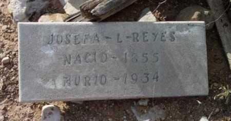 LOPEZ REYES, JOSEFA L. - Yavapai County, Arizona | JOSEFA L. LOPEZ REYES - Arizona Gravestone Photos