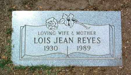 REYES, LOIS JEAN - Yavapai County, Arizona   LOIS JEAN REYES - Arizona Gravestone Photos