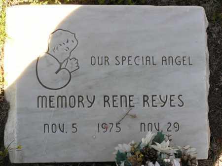 REYES, MEMORY RENE - Yavapai County, Arizona | MEMORY RENE REYES - Arizona Gravestone Photos