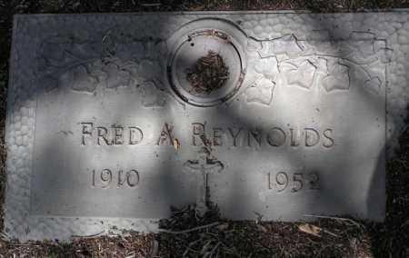 REYNOLDS, FRED A. - Yavapai County, Arizona   FRED A. REYNOLDS - Arizona Gravestone Photos