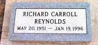 REYNOLDS, RICHARD CARROLL - Yavapai County, Arizona | RICHARD CARROLL REYNOLDS - Arizona Gravestone Photos