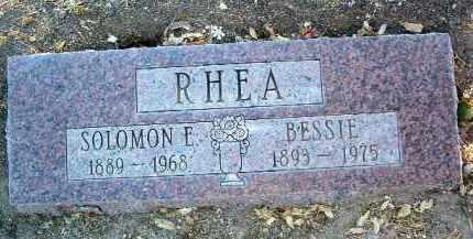 RHEA, SOLOMON ERNEST - Yavapai County, Arizona   SOLOMON ERNEST RHEA - Arizona Gravestone Photos