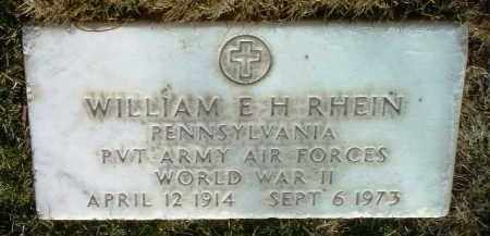RHEIN, WILLIAM E. - Yavapai County, Arizona | WILLIAM E. RHEIN - Arizona Gravestone Photos