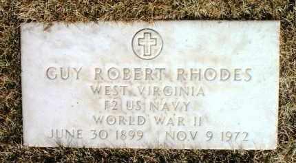 RHODES, GUY ROBERT - Yavapai County, Arizona   GUY ROBERT RHODES - Arizona Gravestone Photos