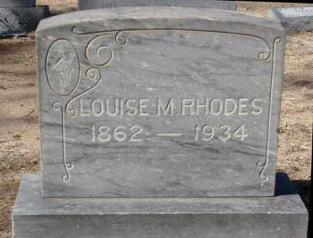 MEFFORD RHODES, LOUISE M. - Yavapai County, Arizona | LOUISE M. MEFFORD RHODES - Arizona Gravestone Photos
