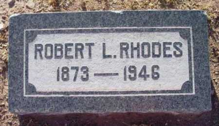 RHODES, ROBERT LEE - Yavapai County, Arizona   ROBERT LEE RHODES - Arizona Gravestone Photos