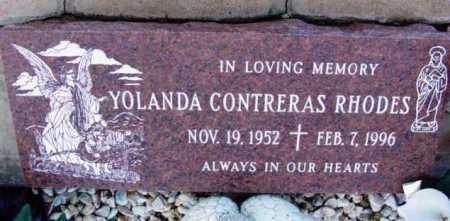 CONTRERAS RHODES, Y. - Yavapai County, Arizona | Y. CONTRERAS RHODES - Arizona Gravestone Photos