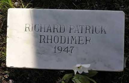 RHODIMER, RICHARD PATRICK - Yavapai County, Arizona | RICHARD PATRICK RHODIMER - Arizona Gravestone Photos