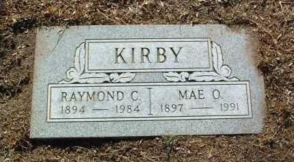 WARD KIRBY, MAE ORA - Yavapai County, Arizona | MAE ORA WARD KIRBY - Arizona Gravestone Photos